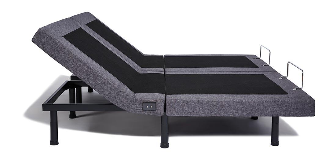 Split King Adjustable Bed Frame Heads Up Position